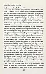 Excerpts from Anna Leveridge's book entitled YOUR LOVING ANNA. LETTERS FROM THE ONTARIO FRONTIER, 1972