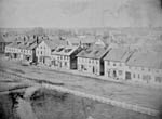 Photograph: Charlottetown (view of Grafton St. from Province House), 1860s.