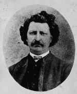 Photograph: Louis D. Riel, between 1879 and 1885