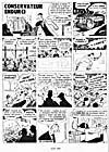 Comic strip, ONÉSIME, printed in newspaper, LE BULLETIN DES AGRICULTEURS, (April 1950)