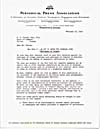 Letter from I.D. Carson to E.D. Fulton, February 12, 1949; 2 pages plus THE COMICS CODE