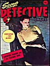 Cover of pulp magazine, SCOOP DETECTIVE CASES, volume 8, number 1 (April 1950)