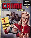 Cover of pulp magazine, DARING CRIME CASES, volume 5, number 26 (May 1947)