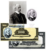 The development of the 1935 $1000 note featuring Laurier.