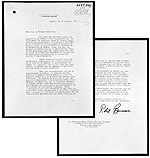 Letter from Quebec Premier Robert Bourassa to Prime Minister Pierre Trudeau requesting the imposition of the War Measures Act, October 16, 1970