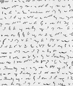 Thompson's shorthand